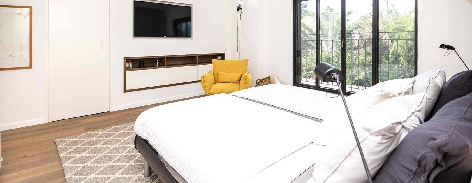 שיפוץ חדר שינה